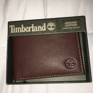 Timberland Genuine Leather men's wallet